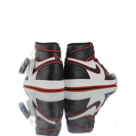 "Air Jordan 1 High ""Meant To Fly"" 555088-062 Black White Red"
