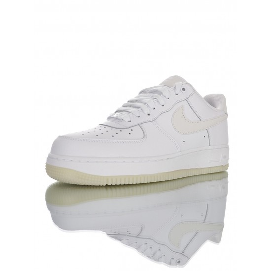 """Nike Air Force 1 '07 Essential """"White Sole Glow"""" AO2132-101 White"""