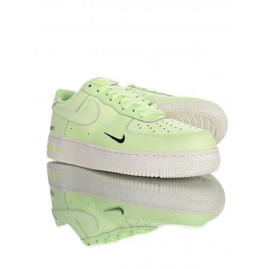 """Nike Air Force 1 '07 """"Just Do It"""" CT2541-700 Green"""