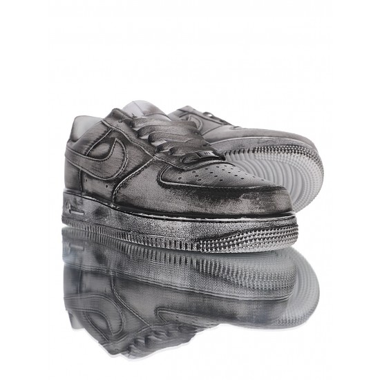 """Nike Air Force 1 '07 Low """"I Hand Painted"""" 315122-111 Grey"""