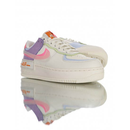 "Nike Air Force 1 Shadow ""Beige Pale Ivory"" CU3012-164 Beige Pink"