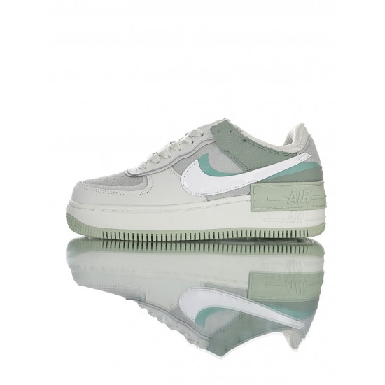 """Nike Air Force 1 Shadow """"Pistachio Frost"""" CW2655-001 Green"""