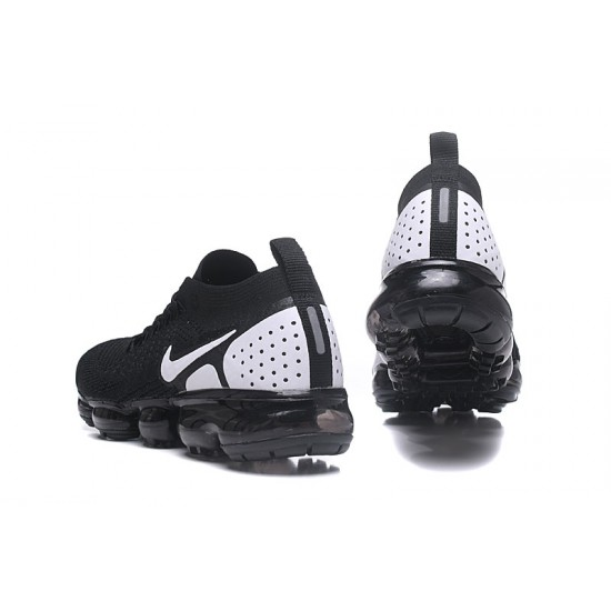 2018 Nike Air VaporMax Flyknit 2.0 W 942842-010 Black White