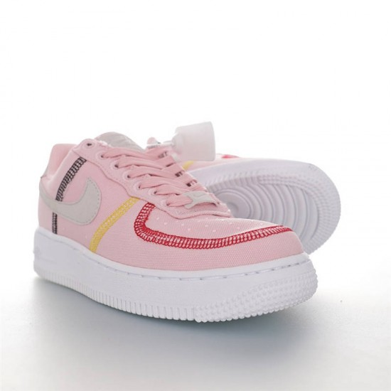 """Nike Air Force 1 '07 LX """"Life Lime"""" CK6572-600 Pink White"""